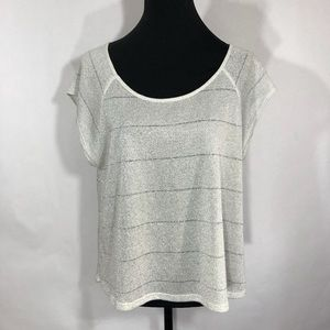 One Clothing Sliver Scoop Neck Blouse